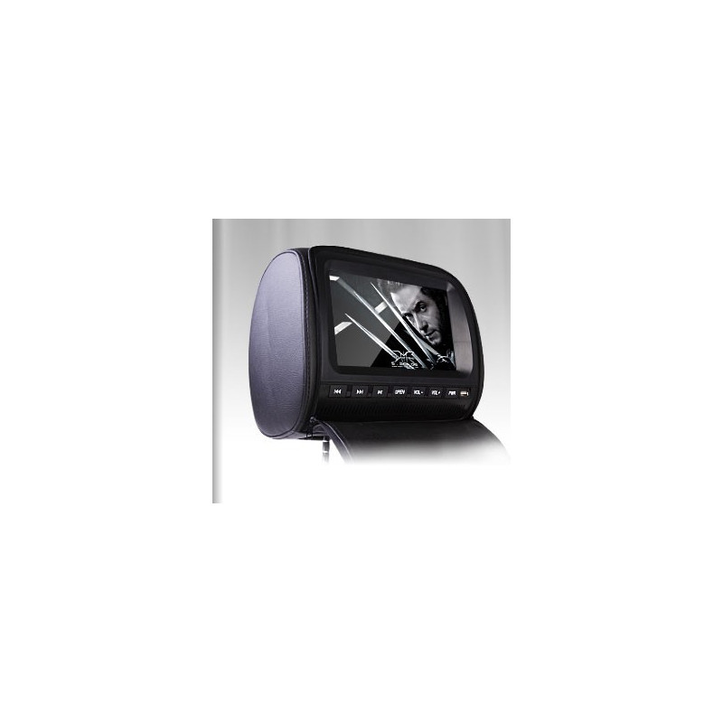 2x 9 inch LCD hoofdsteun DVD speler HD905