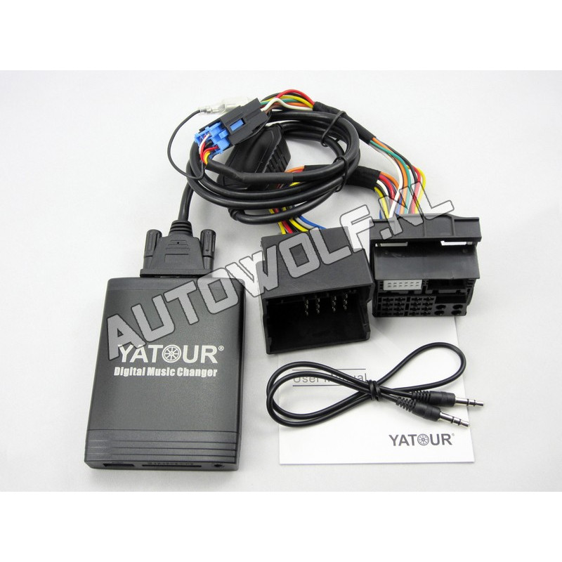 Renault aux, sd, usb audio interface REN12
