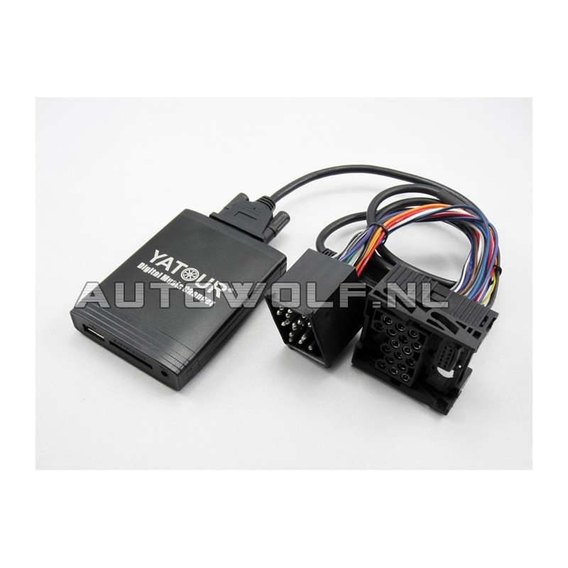 BMW aux, sd, usb audio interface BMW1