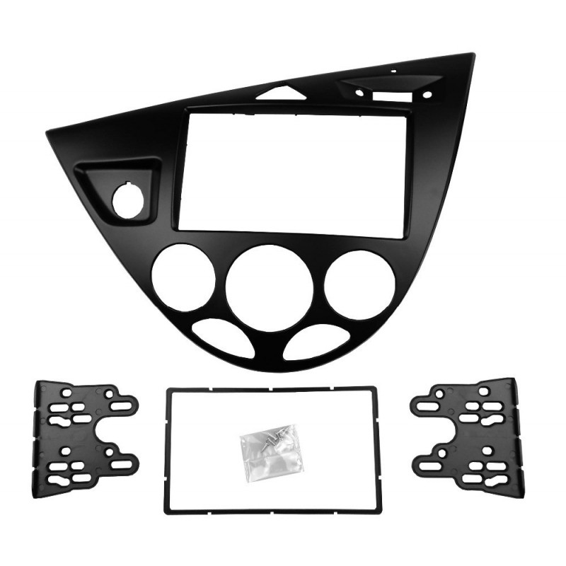 Ford Focus 2DIN paneel zwart of grijs