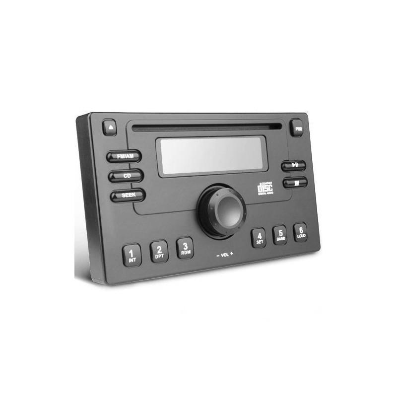 2-DIN anti-theft panel