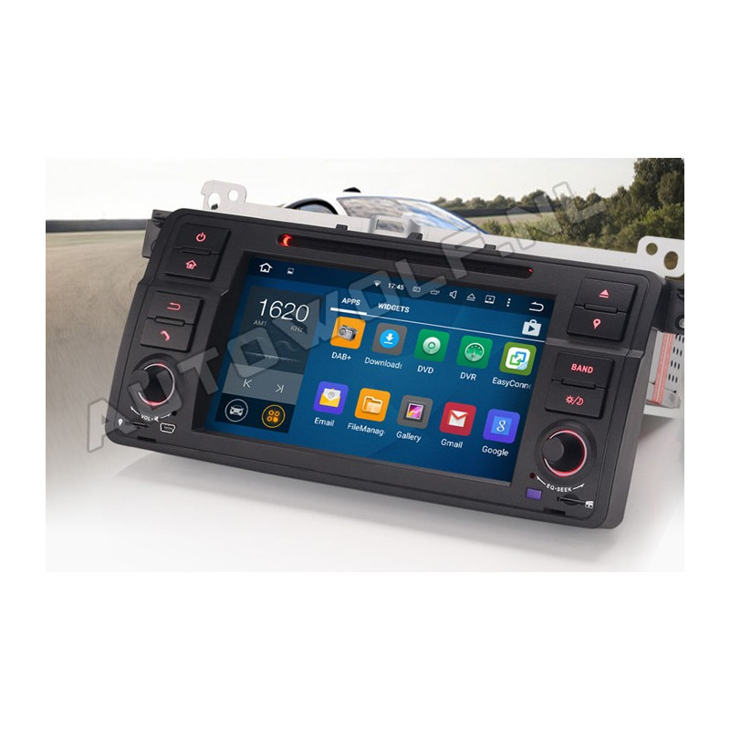 AW3162VS BMW E46 7 inch Android 8 navigatie, multimedia car pc met DAB