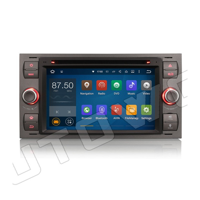 AW3366F 7 inch Android navigatie voor Ford, multimedia car pc met DAB