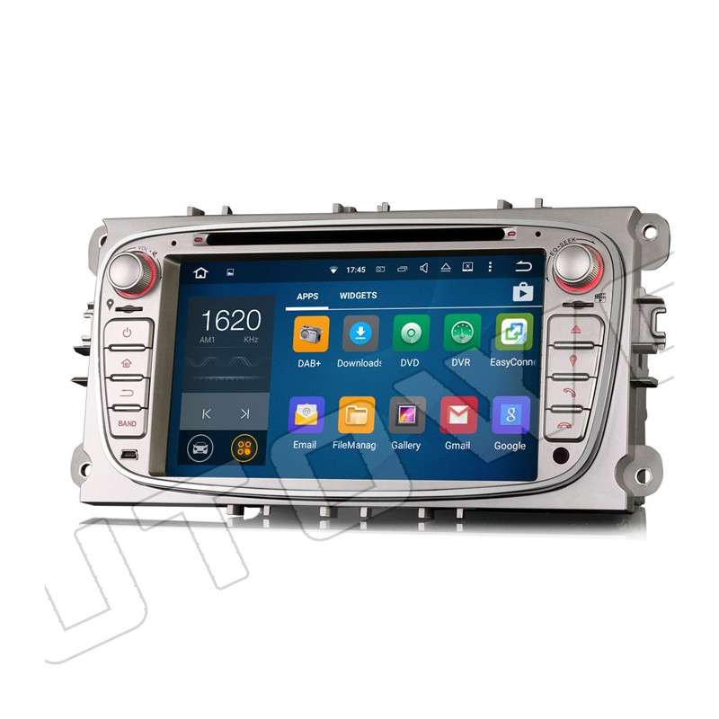 AW3309F 7 inch Android navigatie voor Ford, multimedia car pc met DAB