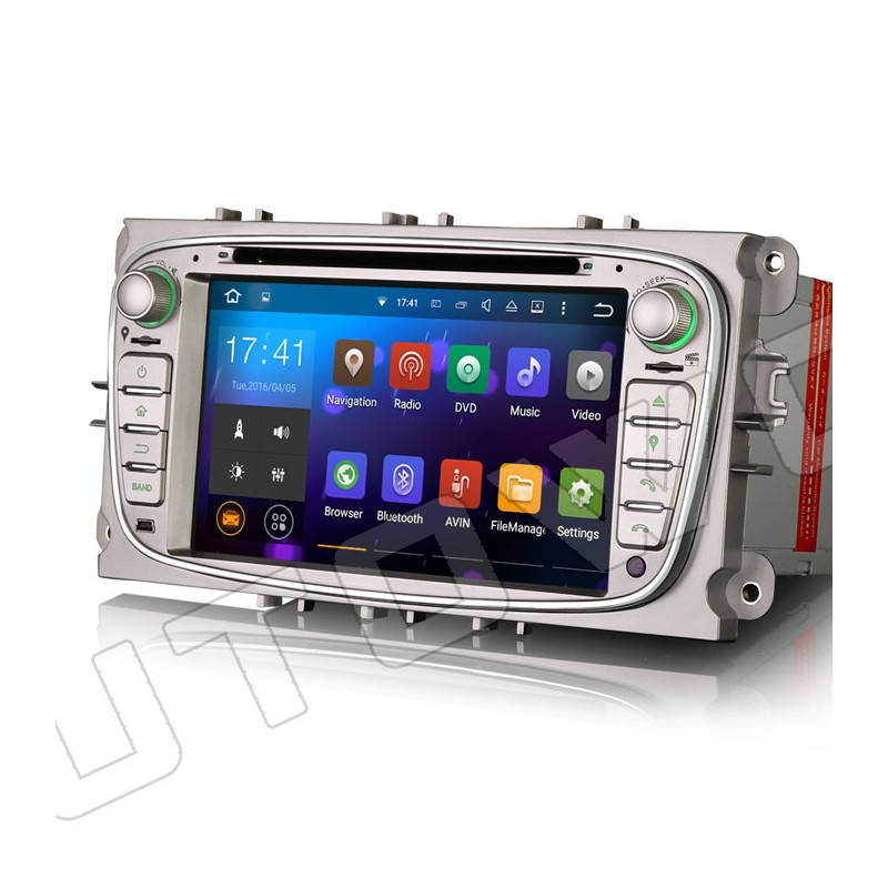 AW3409FS 7 inch Android 8 navigatie voor Ford, multimedia car pc met DAB