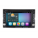 AW2222A 2DIN 6,2 inch Android navigatie, multimedia car pc carkit dvd speler