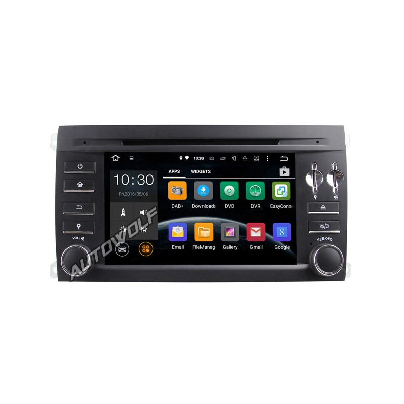 AW9015P Porsche Cayenne 7 inch Android navigatie, multimedia car pc