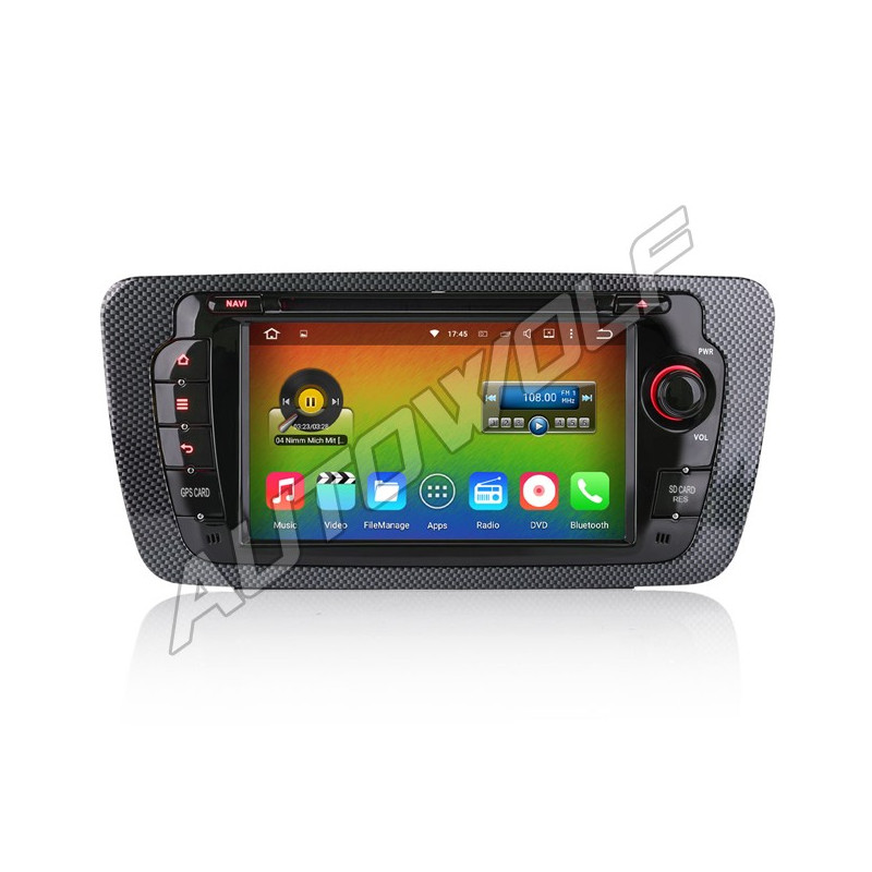AW9499S2 2DIN 7 inch Android navigatie voor Seat Ibiza, dab, multimedia car pc octa core android 6