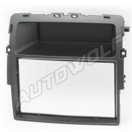 2 DIN panel Opel Renault Nissan naar ISO vivaro