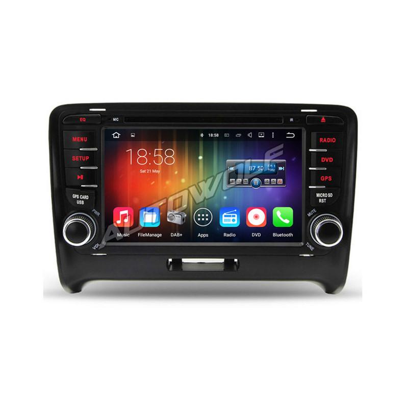 AW7788TTS 7 inch Android navigatie voor Audi TT, multimedia car pc met DAB