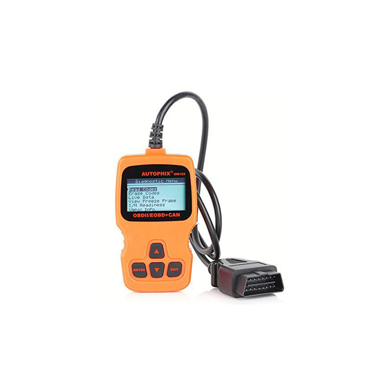 OM123 EN OBD2 manual scanner
