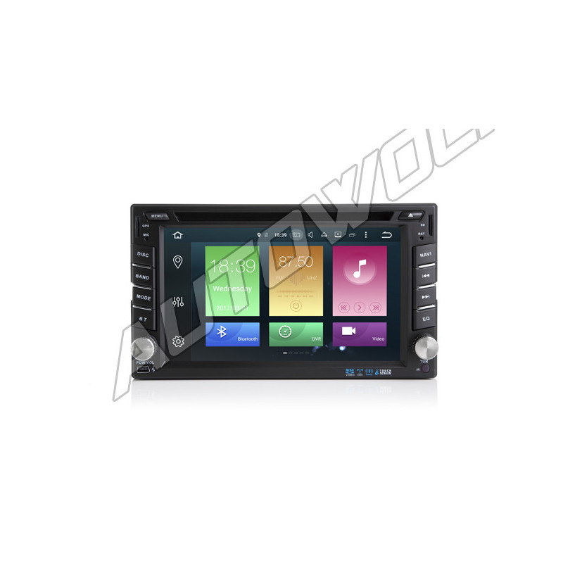 AW5620N 2DIN Android navigation, multimedia, car pc DAB+, octa-core 2GB