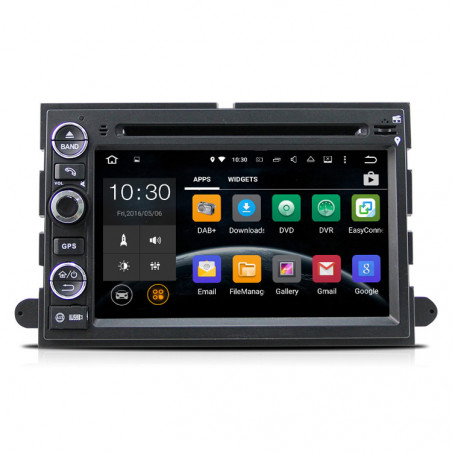 AW9302AS 7 inch Android navigatie voor Ford, multimedia car pc