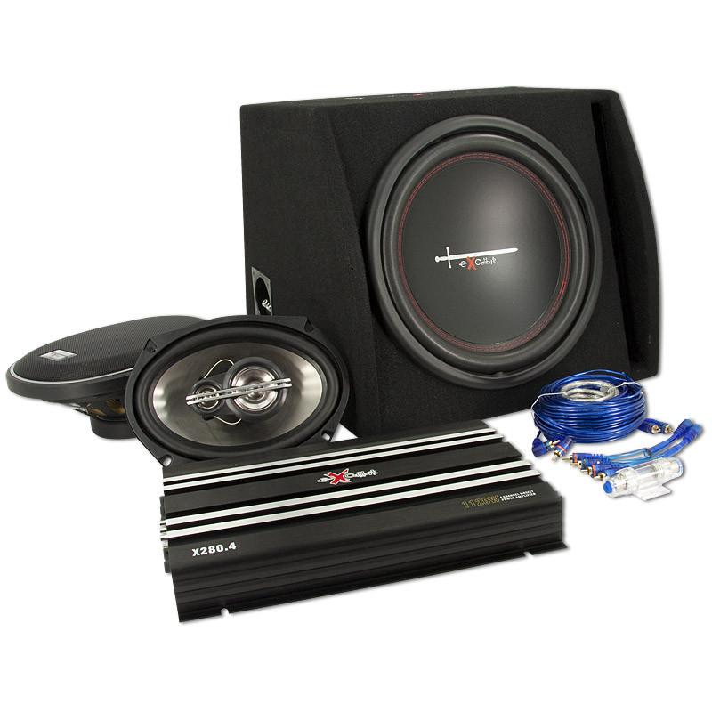 Excalibur Totaal Pakket 2, incl. 1x BM X2804, BM X121BR, BM X6933 en kabelset