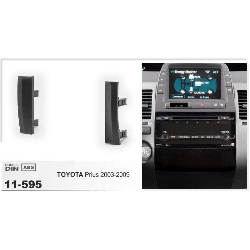 2 DIN paneel Prius naar ISO 2