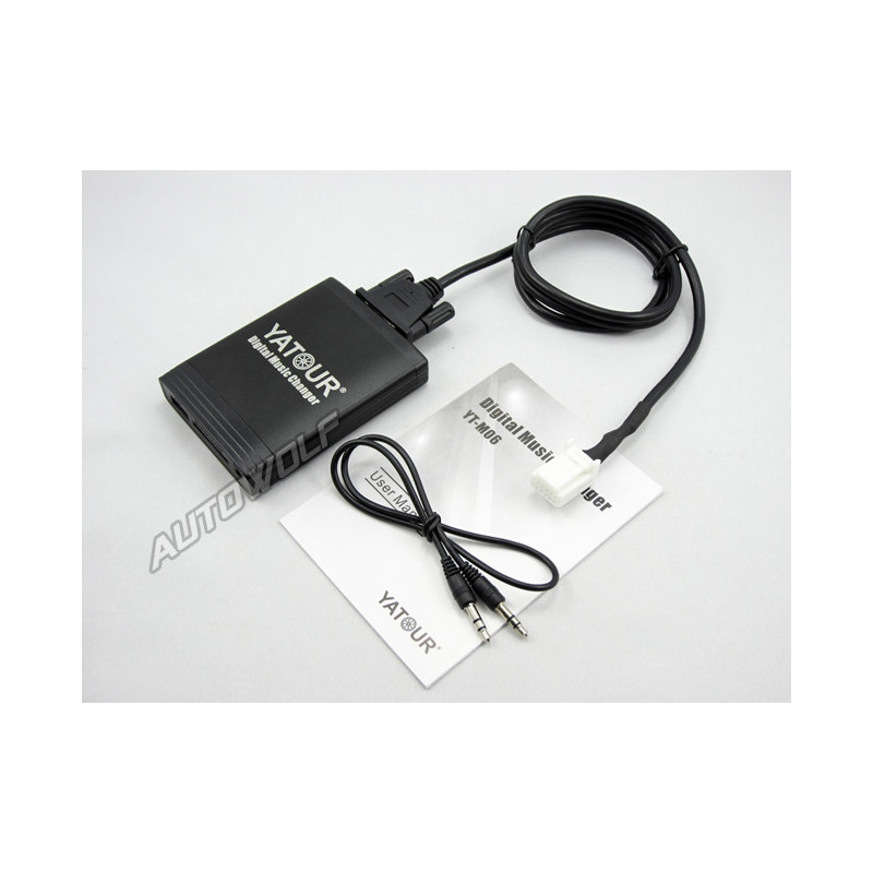 Toyota aux, sd, usb audio interface TOY2