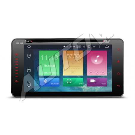 Android navigatie multimedia speler voor Toyota met bluetooth carkit android 8