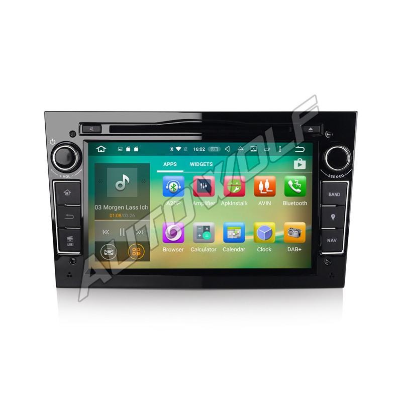 AW3360PS2 7 inch Android navigatie voor Opel, multimedia car pc met DAB octa-core 2gb 32GB