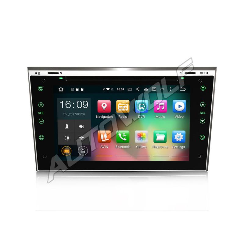 AW30817 7 inch Android navigatie voor Opel, multimedia car pc met DAB octa-core 2gb 32GB