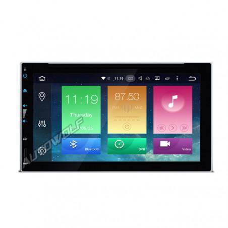 2DIN 6.95 inch Android navigatie, dab met een octacore processor en 4gb te697p
