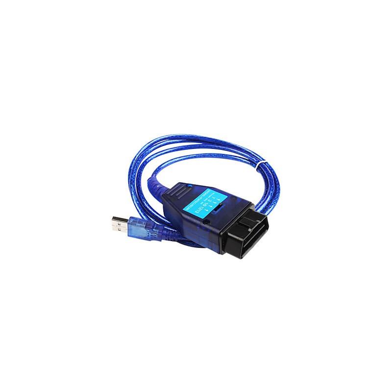 Alfa, Fiat, Lancia OBD2 USB KKL ECU kabel
