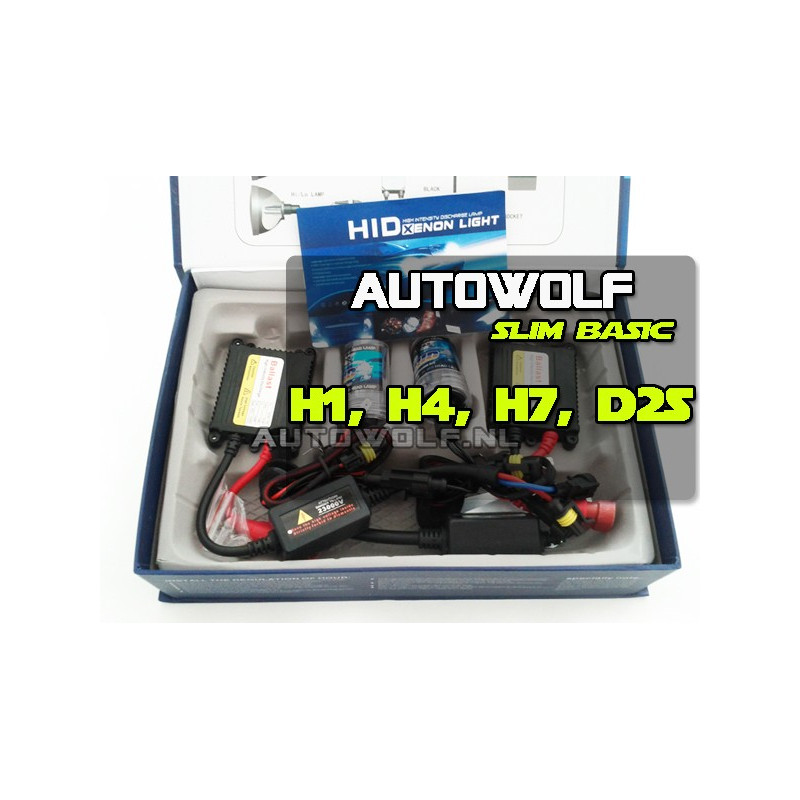 Basic Xenon HID set 35w Slim ballast