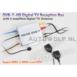 AW499D Digital TV receiver...