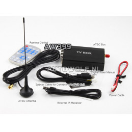 AW399 Mini Digitale TV ontvanger - DVB-T HD Tv reciever box