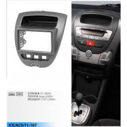 2 DIN panel Volkswagen - VW to ISO