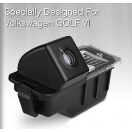 VW Golf 6 reversing camera with number plate light