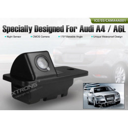 Audi A4, A6, A8, Q7 reversing camera with number plate light