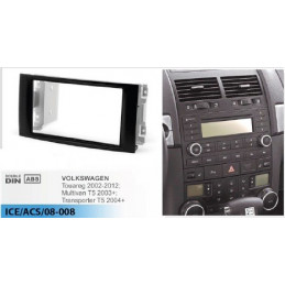 2 DIN panel Volkswagen - VW to ISO