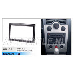 2 DIN panel Ibiza 2008+ - Seat to ISO