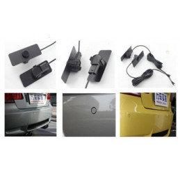16.5 mm parking sensor set with 4 sensors, buzzer or led display