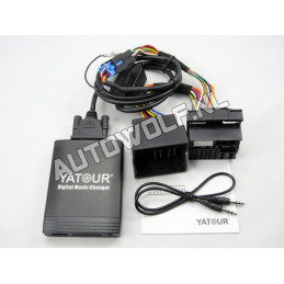 Renault aux, sd, usb audio interface, REN12