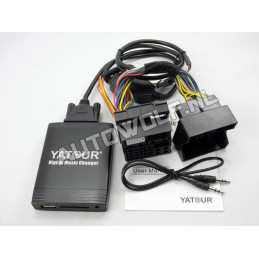Ford aux, sd, usb audio interface FRD2