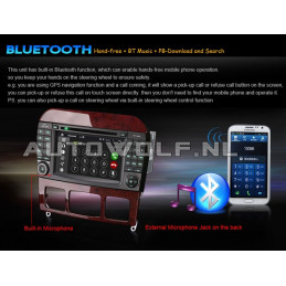 AW9509A Mercedes 7 inch Android navigatie, multimedia car pc