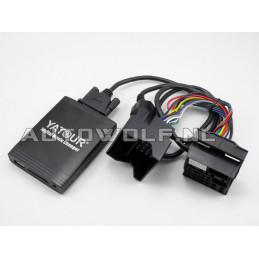 BMW aux, sd, usb audio interface, BMW2
