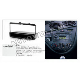 1 DIN panel Ford to ISO