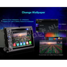 AW9302A Ford 7 inch Android navigatie, multimedia car pc