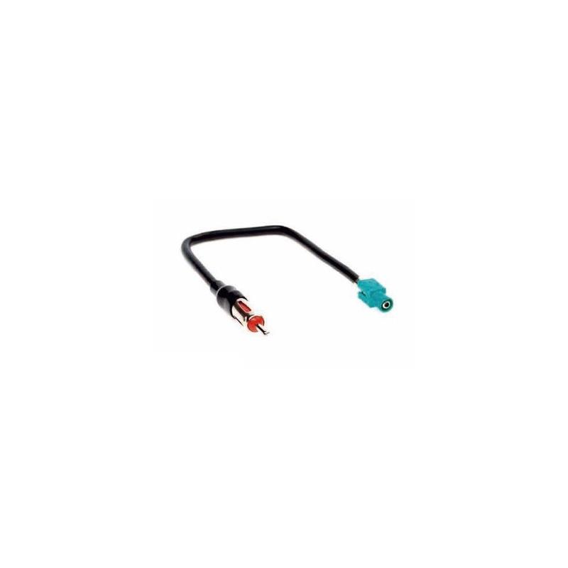 Radio antenne adaper Fakra naar ISO voor VAG, Opel