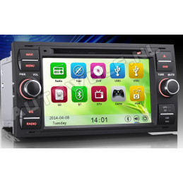 AW7301M Ford 7 inch navigation and dvd player with 3g and wi-fi dualcore