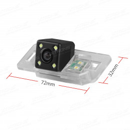 BMW 3-Series, 5-Series Rear view camera with number plate light