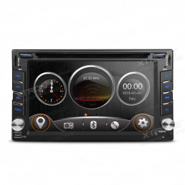 TD619G 2 DIN 6,2 inch car stereo with Navigation and DVD with mirrorlink function