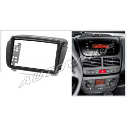 2 DIN panel Doblo - Fiat to ISO