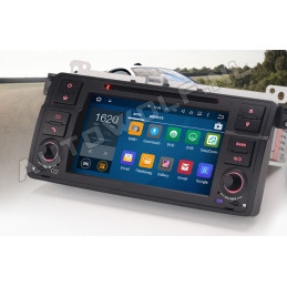 AW3162V BMW E46 7 inch Android navigatie, multimedia car pc met DAB