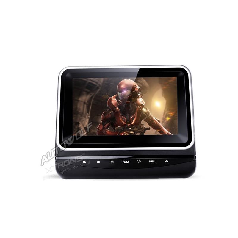 7 inch LCD headrest DVD player