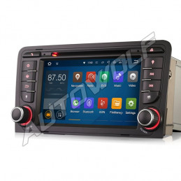AW9347A Audi A3 7 inch Android navigation, multimedia, car pc DAB