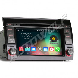 Fiat Bravo 2DIN 7 inch Android navigation, multimedia, car pc with dvd