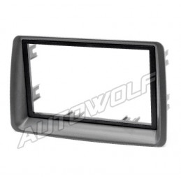 2 DIN panel for Fiat Panda - Fiat to ISO